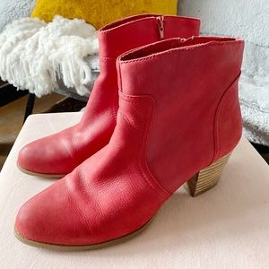 Sole Society Red Booties!!